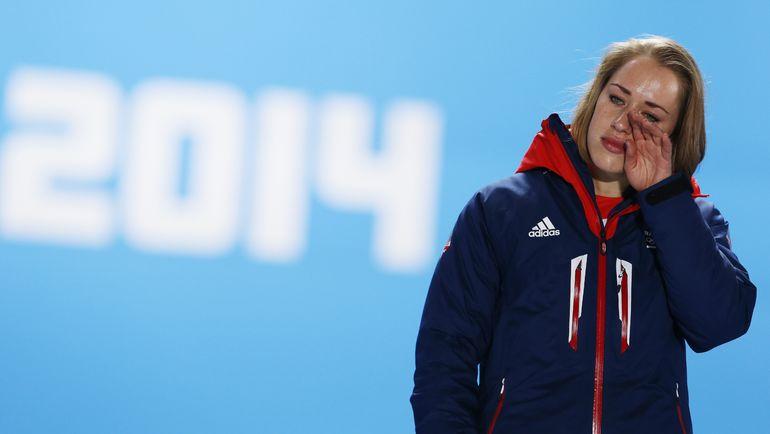 Элизабет ЯРНОЛЬД в олимпийском Сочи. Фото AFP