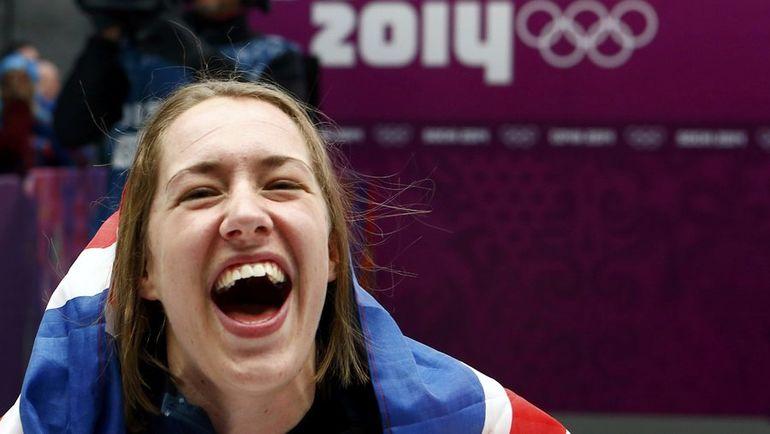 Олимпийская чемпионка Сочи Элизабет ЯРНОЛЬД. Фото REUTERS