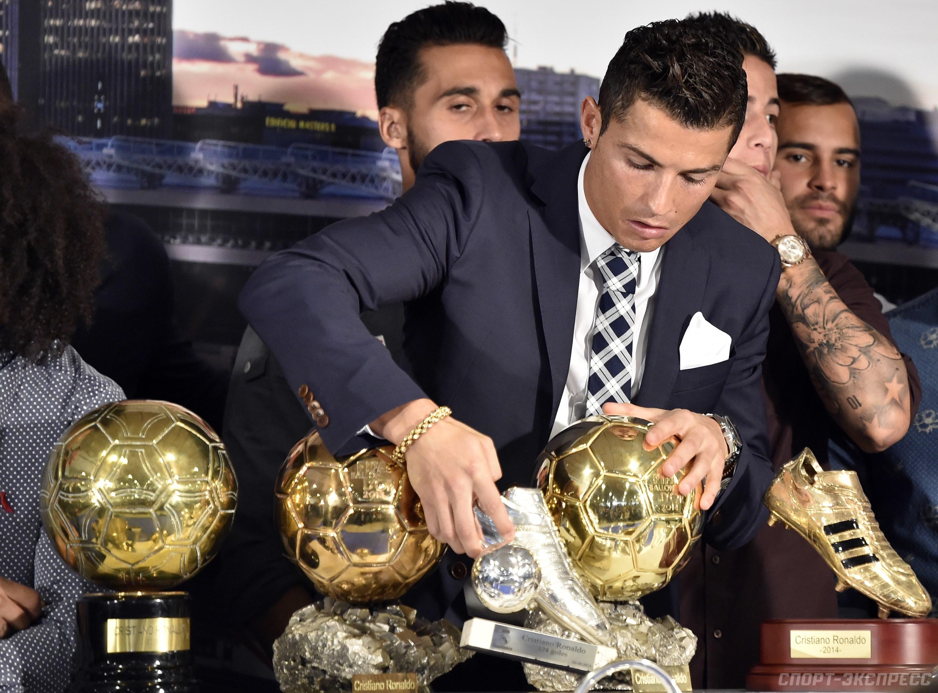 Претендентов на Золотой мяч объявят 25 октября