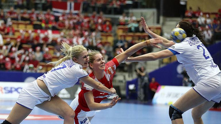 Хельсинборг. Чемпионат Европы. Дания - Россия - 26:26. Фото swe2016.ehf-euro.com