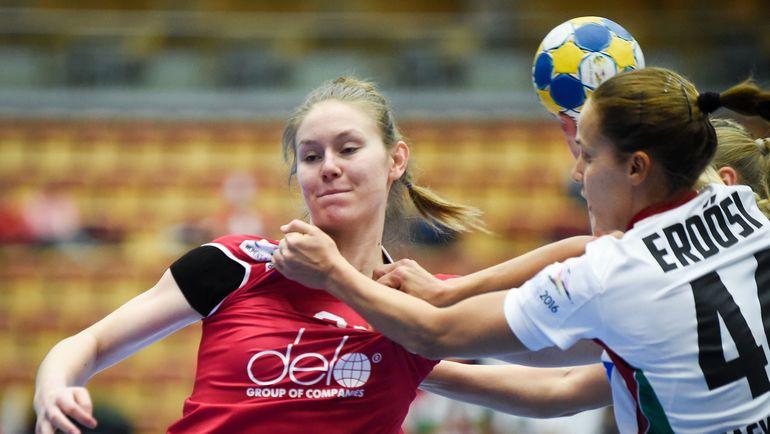 В атаке Антонина СКОРОБОГАТЧЕНКО. Фото AFP