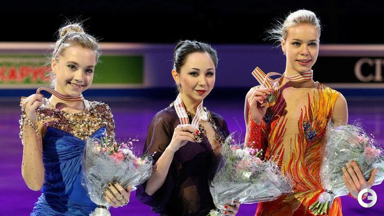 2015 год. Елена РАДИОНОВА, Елизавета ТУКТАМЫШЕВА, Анна ПОГОРИЛАЯ (слева направо). Фото Ольга БЕНАР