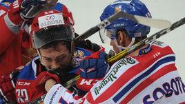 Россия победила Чехию, Дацюк подрался с Соботкой