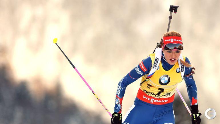Габриэла КОУКАЛОВА (Чехия, биатлон). Фото AFP
