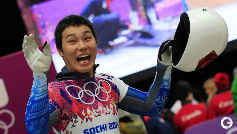 Юн СУНГБИН (Южная Корея, скелетон). Фото AFP