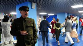 Сталин пришел на матч