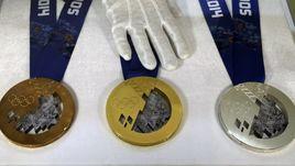 Олимпийские медали Сочи-2014.