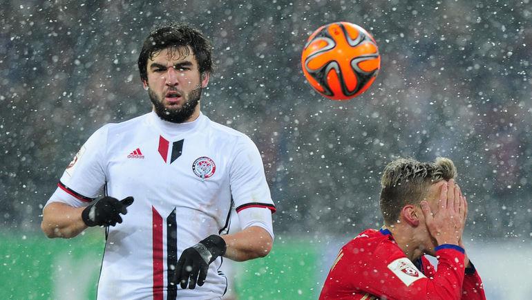 «Амкар» официально объявил опереходе Джикии в«Спартак»