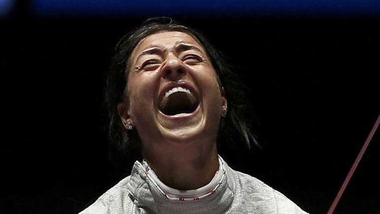Эмоции олимпийской чемпионки Рио Яны ЕГОРЯН. Фото REUTERS