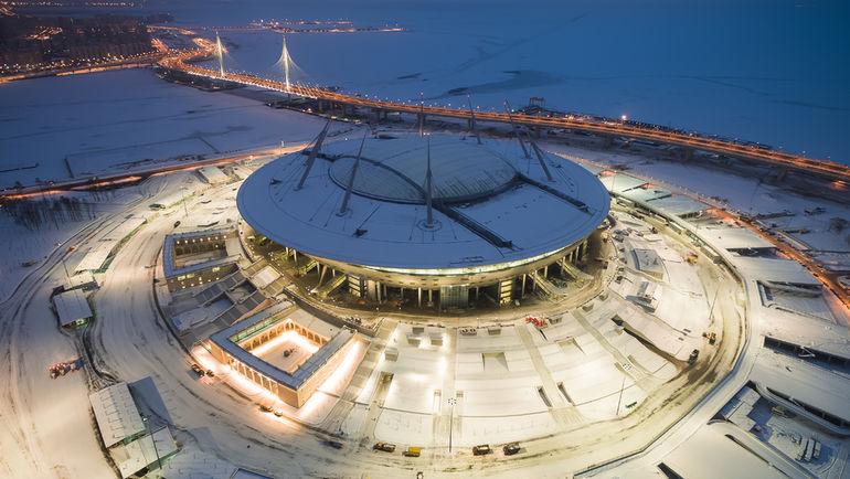 Арена на Крестовском сдана в строй. Фото Станислав ЗАБУРДАЕВ/ТАСС