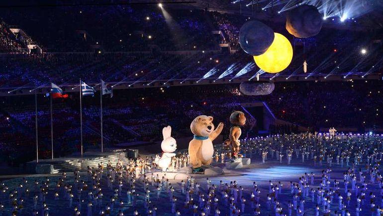Талисманы Сочи-2014 прощаются с Играми. А Россия? Фото AFP