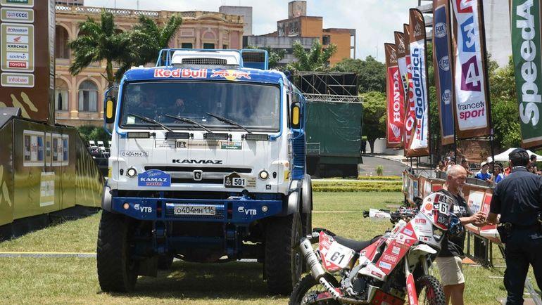 "В Парагвае стартует знаменитый ралли-рейд ""Дакар"". Фото AFP"