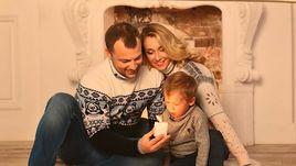 Глушаков с лещом, Ищенко - с семьей. Новогодний