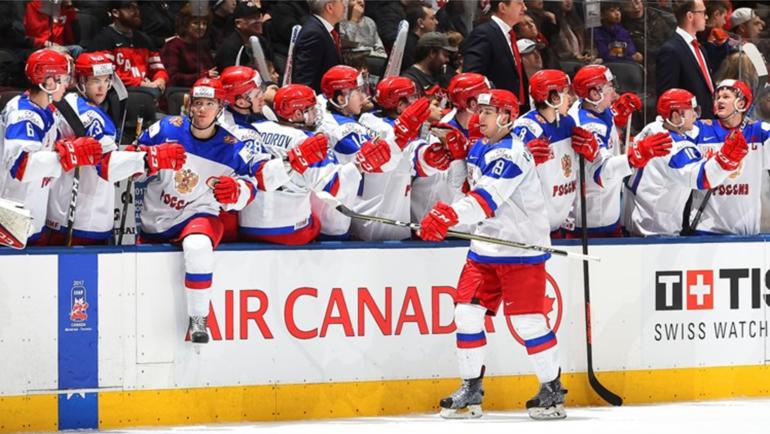 Хоккеисты молодежной сборной РФ обыграли шведов изавоевали бронзуЧМ