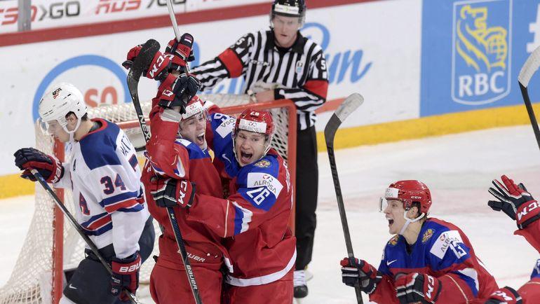 Хоккей Сша Россия 4 Января