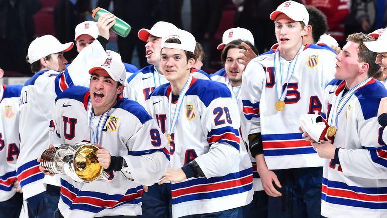 Сборная США выиграла чемпионат мира похоккею среди молодежи