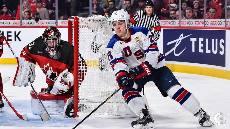 Четверг. Монреаль. США - Канада - 5:4 Б. Джек РОСЛОВИК. Фото AFP