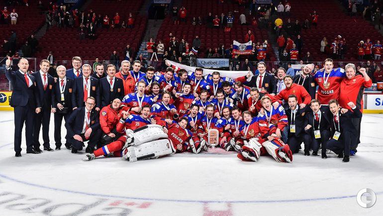 Сегодня. Монреаль. Швеция - Россия - 1:2 ОТ. Молодежная сборная России. Фото AFP