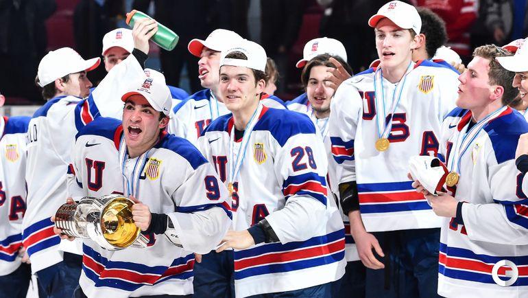 Четверг. Монреаль. США - Канада - 5:4 Б. Молодежная сборная США - чемпион мира! Фото AFP