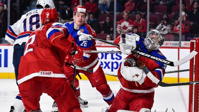 Сборная США вфинале МЧМ обыграла канадцев, дважды уступая вдве шайбы