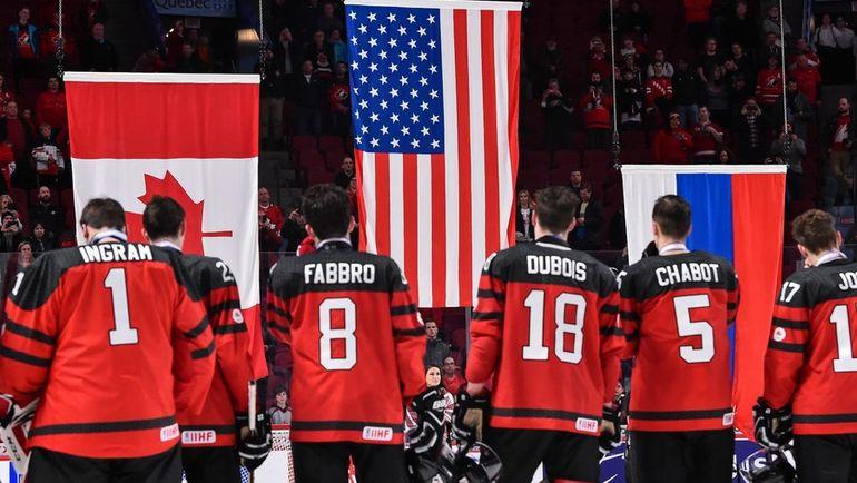 Сегодня. Монреаль. США - Канада - 5:4 Б. Канадские хоккеисты не смогли выиграть домашний чемпионат мира. Фото AFP