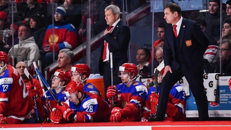 Сборная России впервые за пять турниров при Валерии БРАГИНЕ не попала в финал, но седьмой год подряд завоевала медали чемпионата мира. Фото AFP