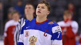 Капитан молодежной сборной России Кирилл КАПРИЗОВ.