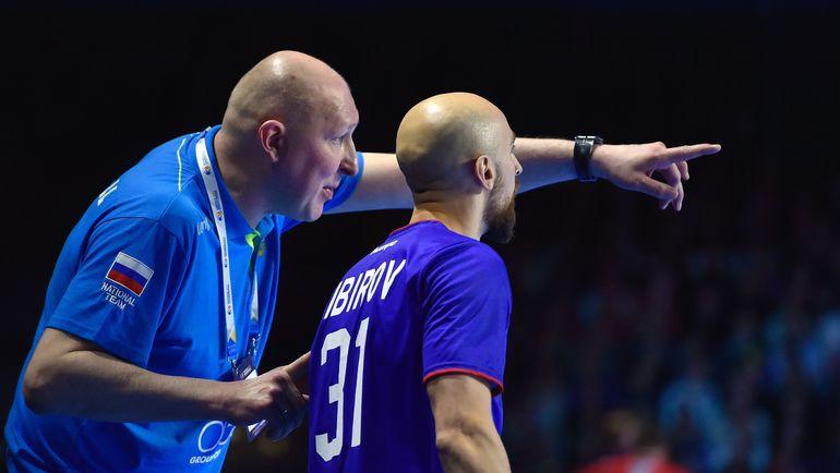 Дмитрий ТОРГОВАНОВ и Тимур ДИБИРОВ. Фото AFP