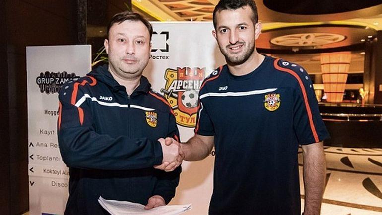 Тульский «Арсенал» подписал договор сфутболистом Григалавой