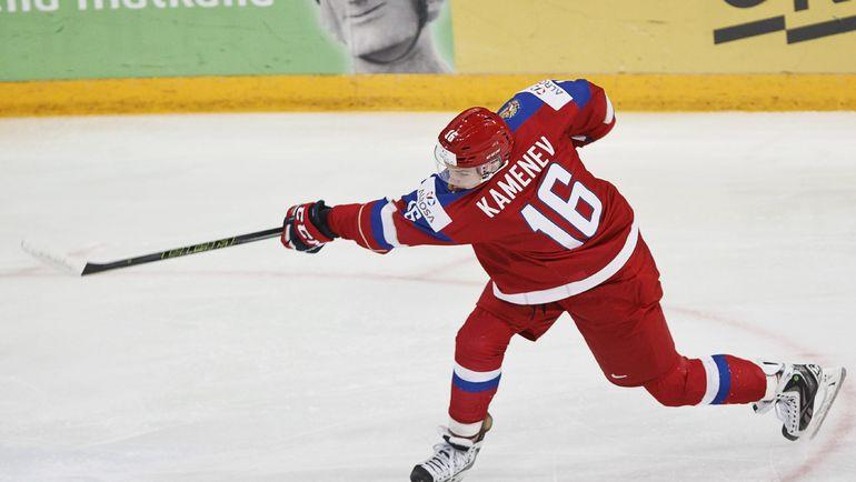 Владислав КАМЕНЕВ на МЧМ-2016. Фото AFP