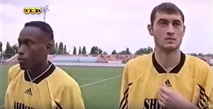 Чиди ОДИА (слева) и Сергей ДАДУ. Фото Moldova.sports