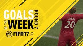 Представлен 7-й выпуск лучших голов недели в FIFA 17