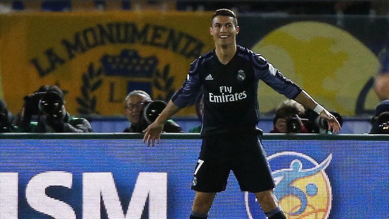 «Реал» одержал победу у«Малаги», Рамос оформил дубль