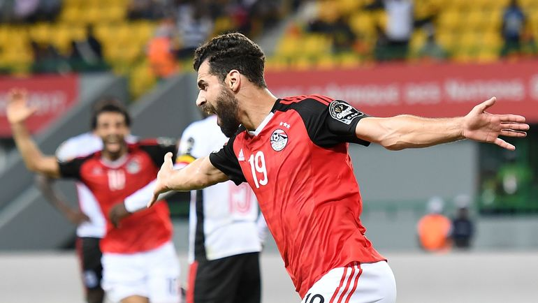 Нападающий сборной Египта Абдаллах САИД. Фото AFP