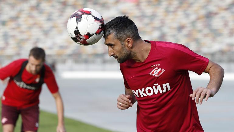 Александр Самедов: Отец был бы очень рад моему возвращению в «Спартак»