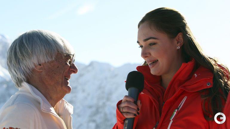 Берни ЭККЛСТОУН и его дочь Тамара. Фото REUTERS