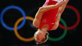 Дмитрий Ушаков - серебряный призер Игр  в прыжках на батуте