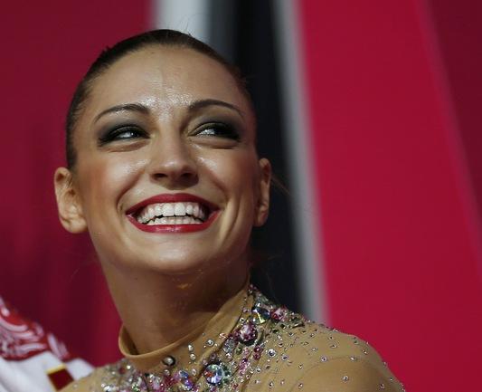 Двукратная олимпийская чемпионка Евгения КАНАЕВА. Фото REUTERS Фото REUTERS