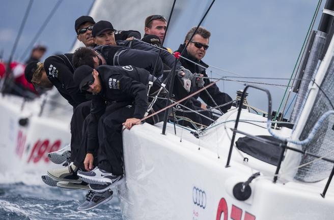 """Сегодня """"Синергия"""" стартует в регате Melges32 - Audi Sailing Series Фото """"СЭ"""""""
