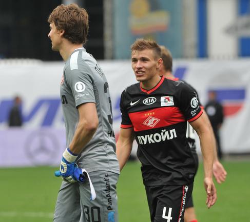Защитник красно-белых Сергей