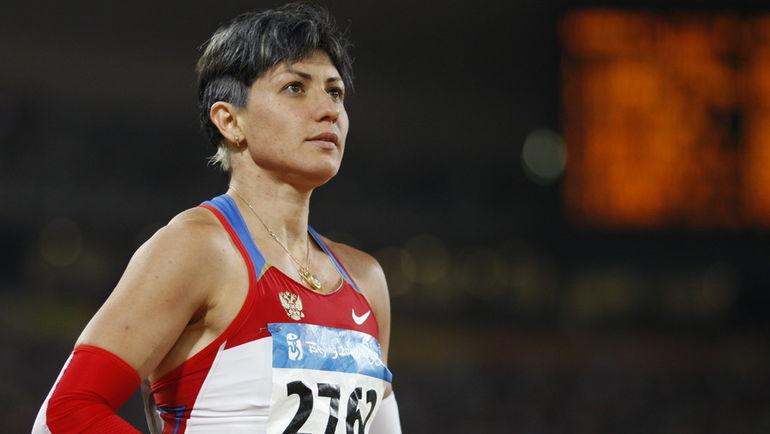 Татьяна ЛЕБЕДЕВА на Олимпиаде в Пекине. Фото AFP