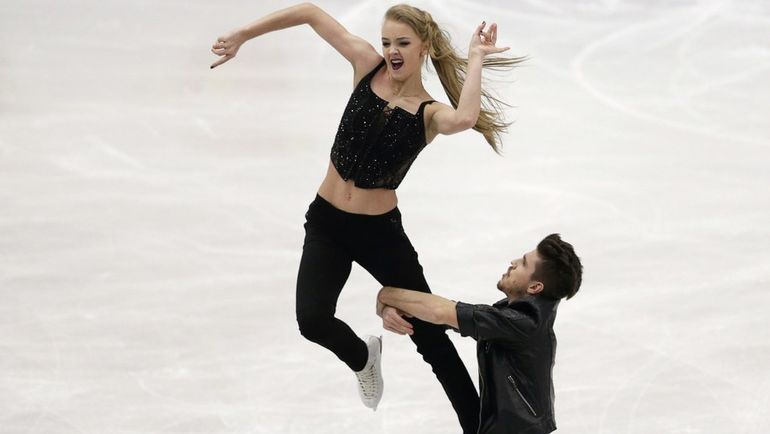 Александра СТЕПАНОВА и Иван БУКИН. Фото REUTERS