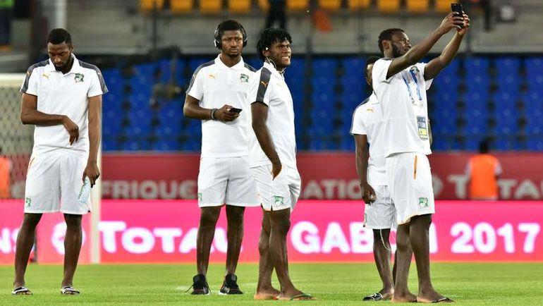 Игроки сборной Кот-д`Ивуара остались без плей-офф Кубка Африки. Фото AFP