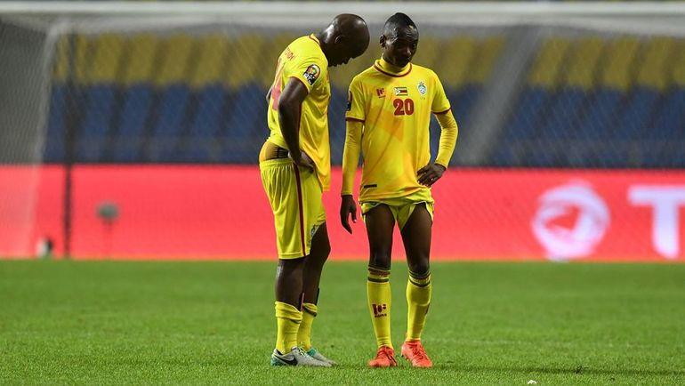Зимбабвийцам удалось набрать лишь одно очко в трех матчах. Фото AFP