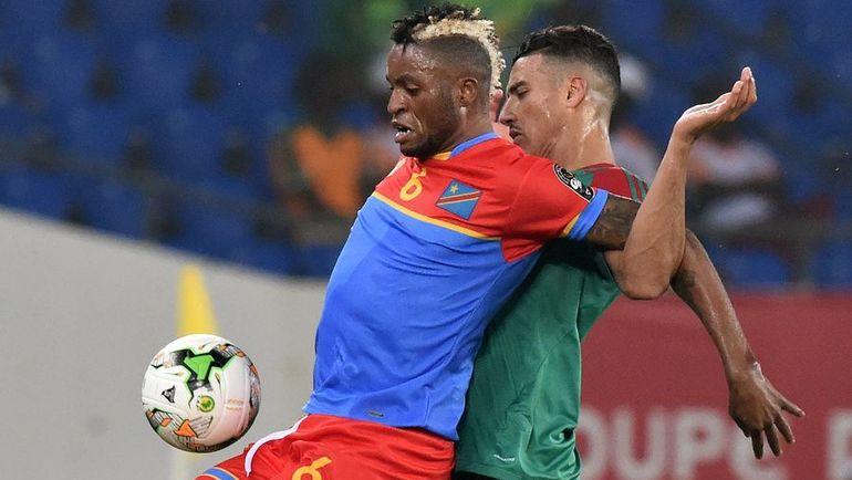 Жуниор КАБАНАНГА (№6) - одно из открытий Кубка Африки. Фото AFP