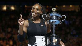 Серена Уильямс в седьмой раз выиграла Australian Open
