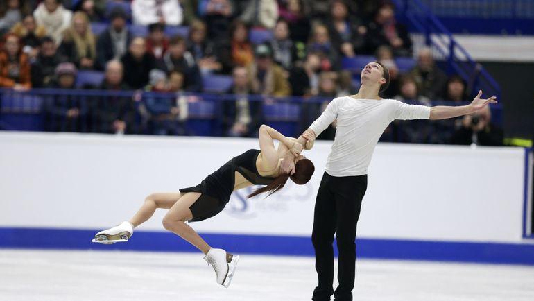 Сегодня. Острава. Екатерина БОБРОВА и Дмитрий СОЛОВЬЕВ. Фото AFP