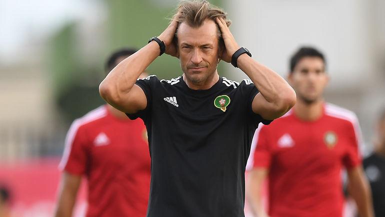 Главный тренер сборной Марокко Эрве РЕНАР. Фото AFP