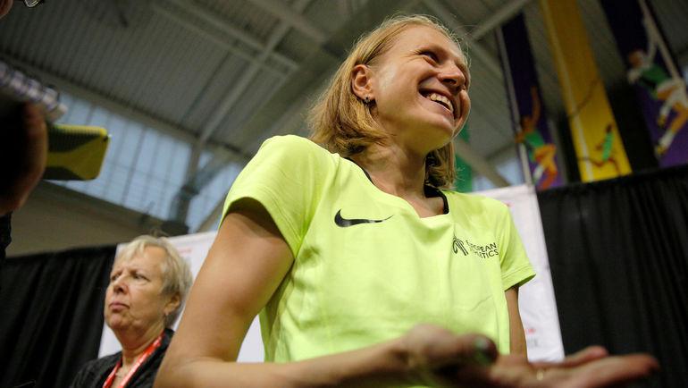 Юлия СТЕПАНОВА в Бостоне. Фото REUTERS