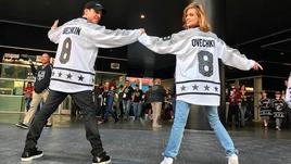 Глюкоза, Бибер, Снуп Догг и другие гости Матча звезд НХЛ